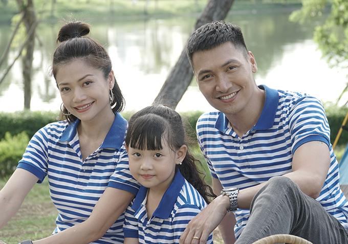 Kiều Anh đóng vai vợ Mạnh Trường trong phim Hồ sơ cá sấu.