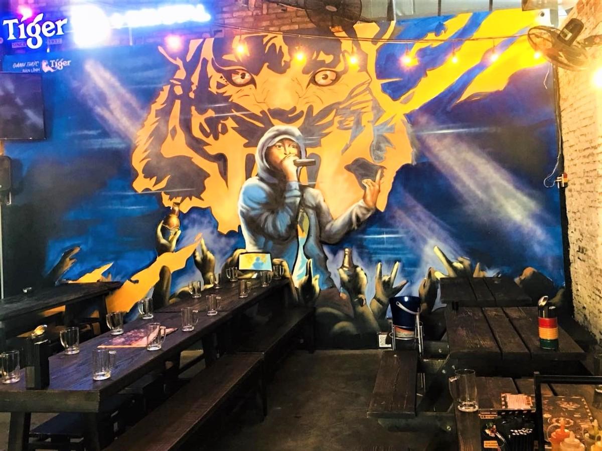Những tác phẩm nghệ thuật ấn tượng trên là tác phẩm đầy tâm huyết của loạt nghệ sĩ tham gia cuộc thi Đánh thức Gen bản lĩnh của Tiger Beer.