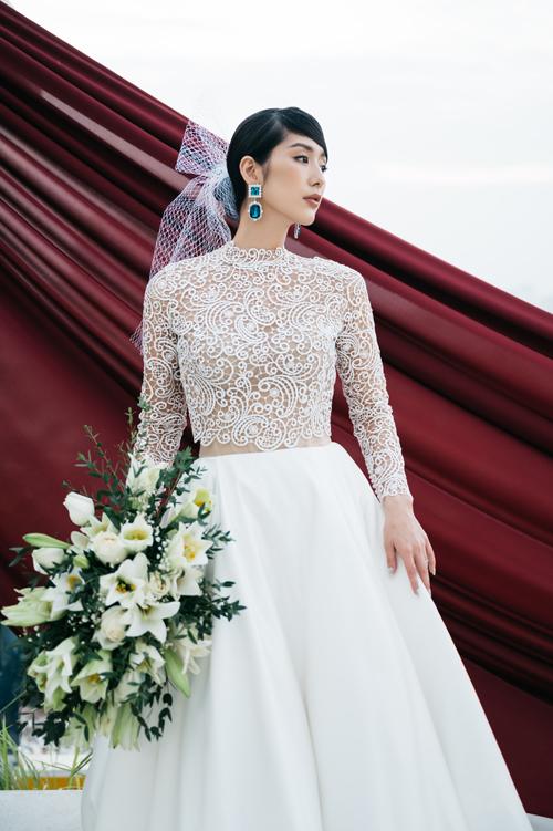 Váy cho nàng dâu không thích theo lối mòn - 8