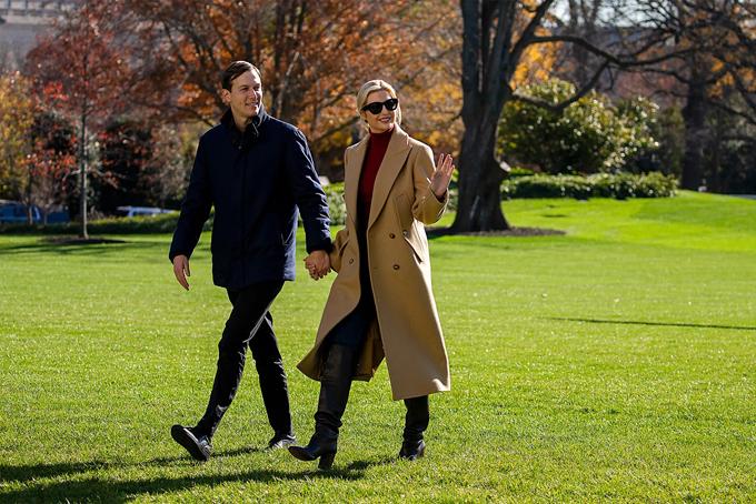 Vợ chồng Ivanka đã mua bất động sản hơn 31 triệu USD trên đảo tỷ phú Indian Creek. Ảnh: AP.