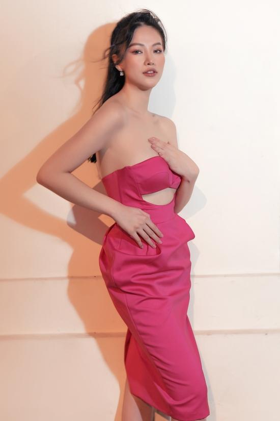 Hoa hậu Phương Khánh gợi ý váy áo dạo phố cuối năm - 8