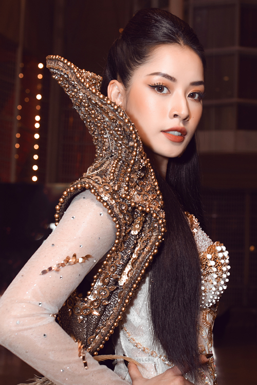HHen Niê đụng váy Đỗ Mỹ Linh - 14