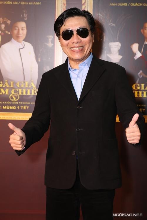 Diễn viên gạo cội Kiến An đóng cặp NSND Hồng Vân trong phim.