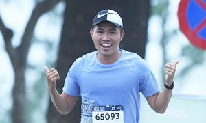 MC Phạm Anh: 'VnExpress Marathon rất tuyệt vời'