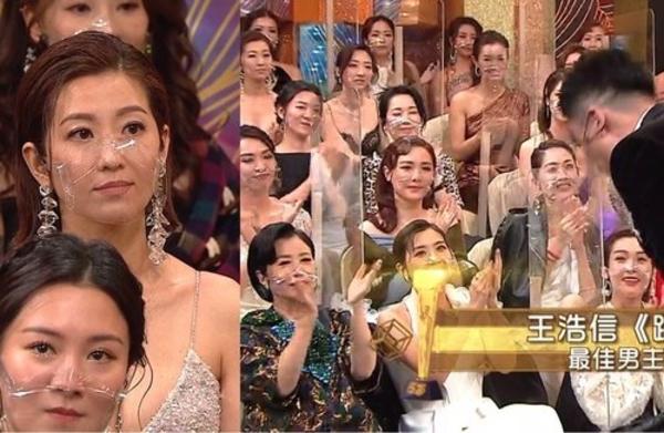 Biểu cảm của Tự Dao khi chồng cảm ơn mình rất gượng gạo.