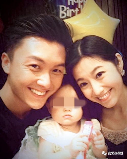 Vợ chồng Vương Hạo Tín khi còn hạnh phúc.