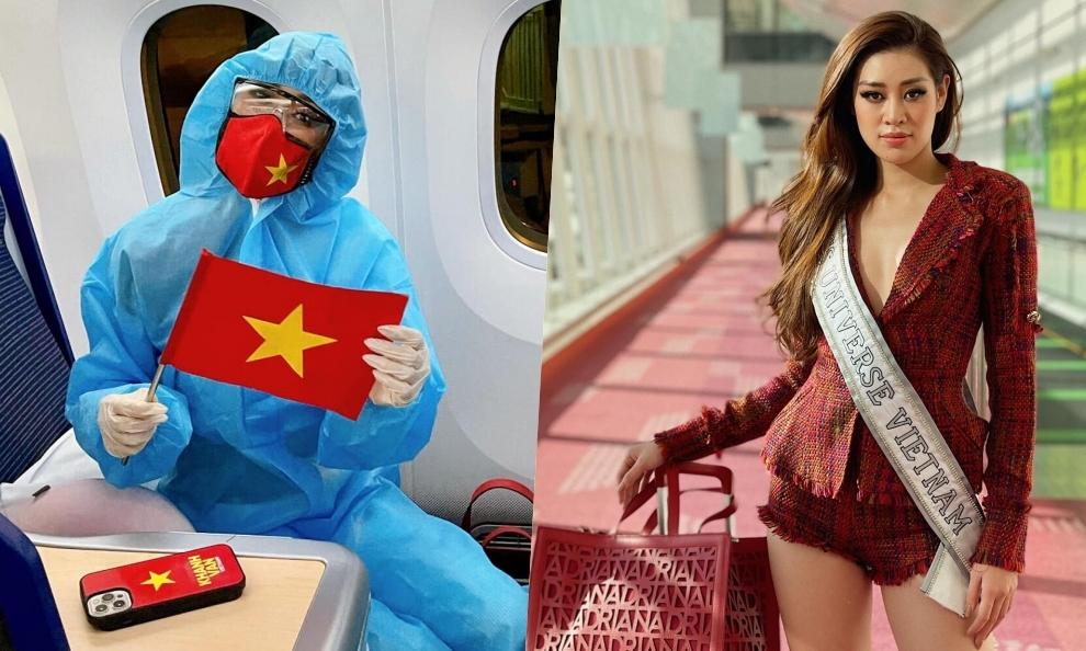 Hành trình Khánh Vân bay sang Mỹ thi Miss Universe - Ngôi sao