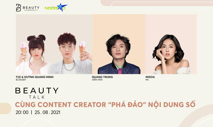 Quang Trung, Tizi - Đích Lép bật mí về công việc sáng tạo nội dung online